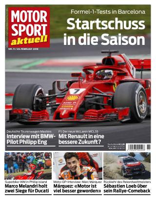 MOTORSPORT aktuell 11/2018