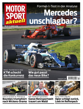 MOTORSPORT aktuell 13/2018
