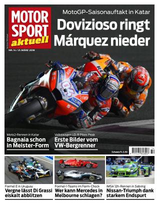 MOTORSPORT aktuell  14/2018