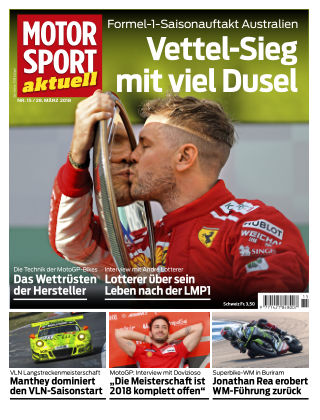 MOTORSPORT aktuell 15/2018