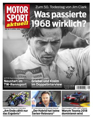 MOTORSPORT aktuell  16/2018