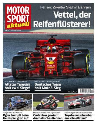 MOTORSPORT aktuell 17/2018
