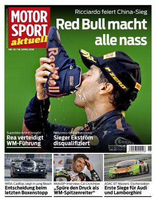 MOTORSPORT aktuell 18/2018