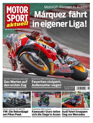 MOTORSPORT aktuell  19/2018