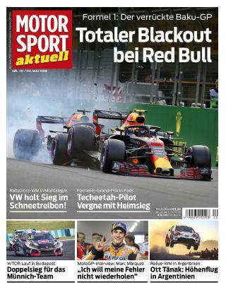 MOTORSPORT aktuell 20/2018
