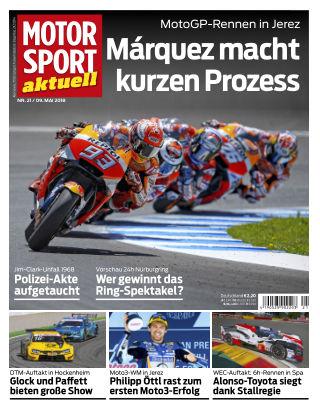 MOTORSPORT aktuell  21/2018