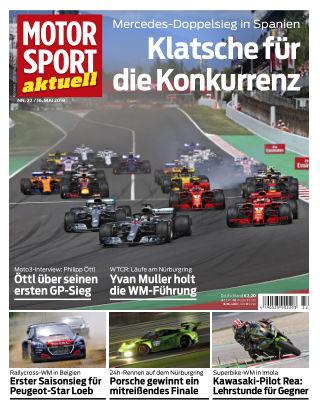 MOTORSPORT aktuell 22/2018