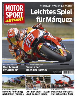 MOTORSPORT aktuell  23/2018