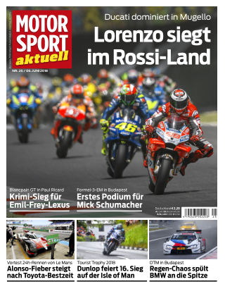 MOTORSPORT aktuell  25/2018