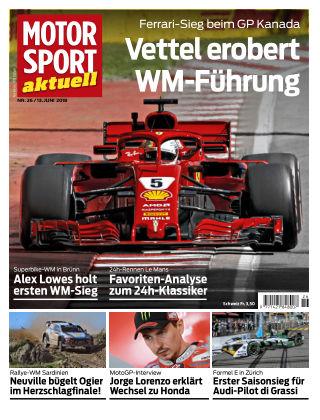 MOTORSPORT aktuell  26/2018