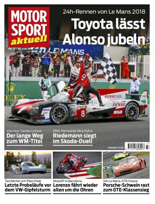 MOTORSPORT aktuell 27/2018