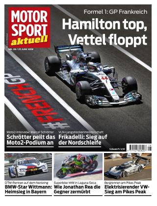 MOTORSPORT aktuell  28/2018
