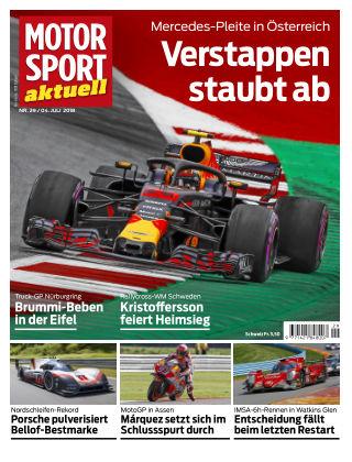 MOTORSPORT aktuell  29/2018