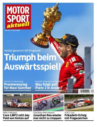 MOTORSPORT aktuell 30/2018
