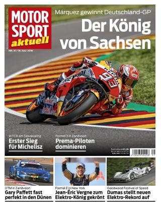 MOTORSPORT aktuell  31/2018