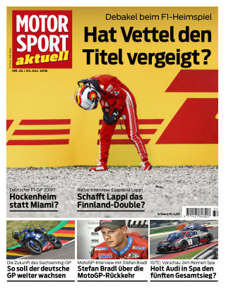 MOTORSPORT aktuell  32/2018