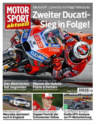 MOTORSPORT aktuell  35/2018