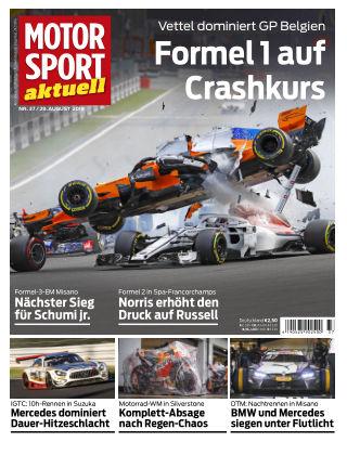 MOTORSPORT aktuell 37/2018