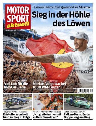MOTORSPORT aktuell 38/2018