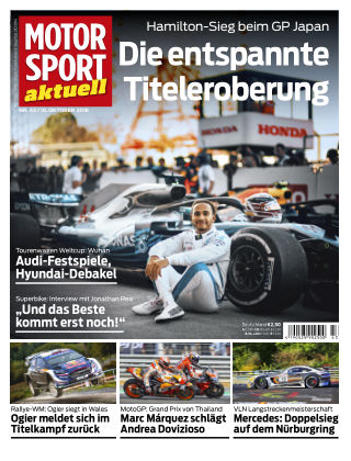 MOTORSPORT aktuell  43/2018