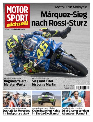 MOTORSPORT aktuell 47/2018