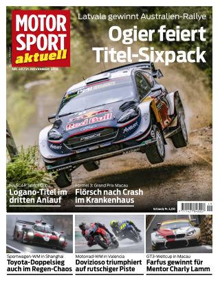 MOTORSPORT aktuell  49/2018