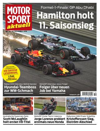 MOTORSPORT aktuell  50/2018