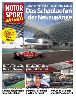MOTORSPORT aktuell  51/2018