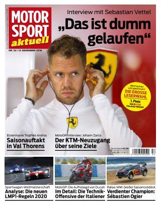 MOTORSPORT aktuell 52/2018