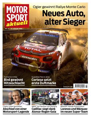 MOTORSPORT aktuell  07/2019