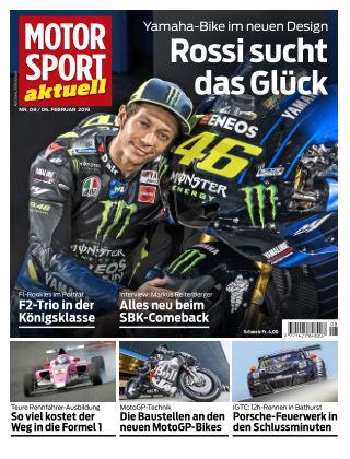 MOTORSPORT aktuell 08/2019
