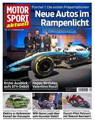 MOTORSPORT aktuell 09/2019