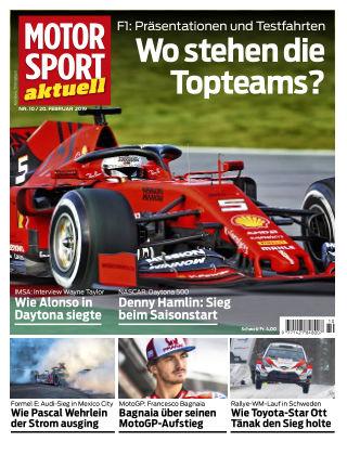 MOTORSPORT aktuell  10/2019