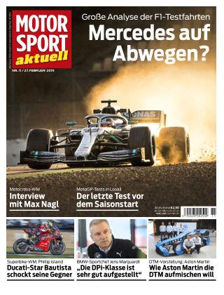MOTORSPORT aktuell 11 2019