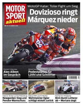 MOTORSPORT aktuell  13 2019
