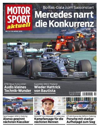 MOTORSPORT aktuell  14 2019