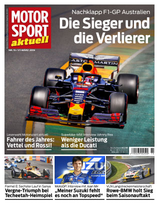MOTORSPORT aktuell 15 2019