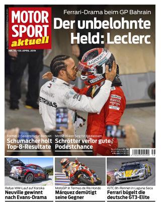 MOTORSPORT aktuell  16 2019