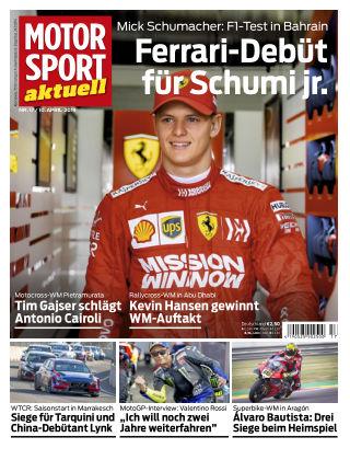 MOTORSPORT aktuell 17 2019