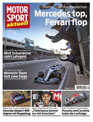 MOTORSPORT aktuell 20 2019