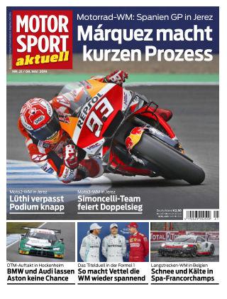 MOTORSPORT aktuell 21 2019