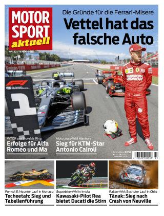 MOTORSPORT aktuell 22 2019
