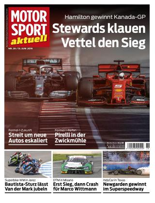MOTORSPORT aktuell 26 2019