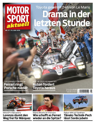 MOTORSPORT aktuell 27 2019