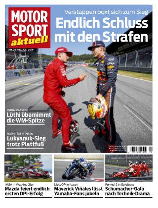MOTORSPORT aktuell 29 2019