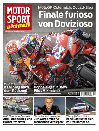MOTORSPORT aktuell 35 2019