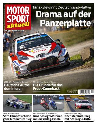 MOTORSPORT aktuell 37 2019