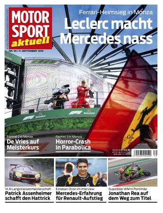 MOTORSPORT aktuell 39 2019