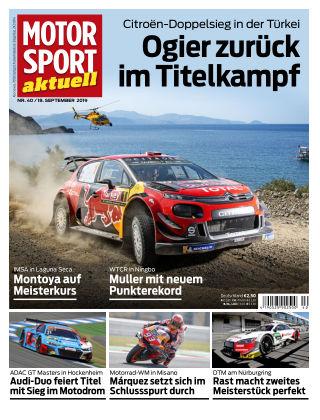 MOTORSPORT aktuell 40 2019