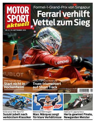 MOTORSPORT aktuell 41 2019